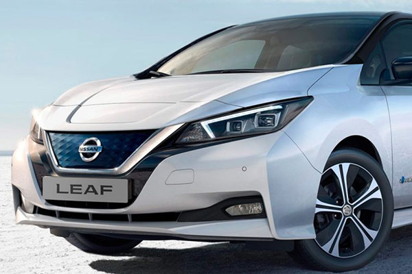 The New Nissan Leaf at JJ Motors