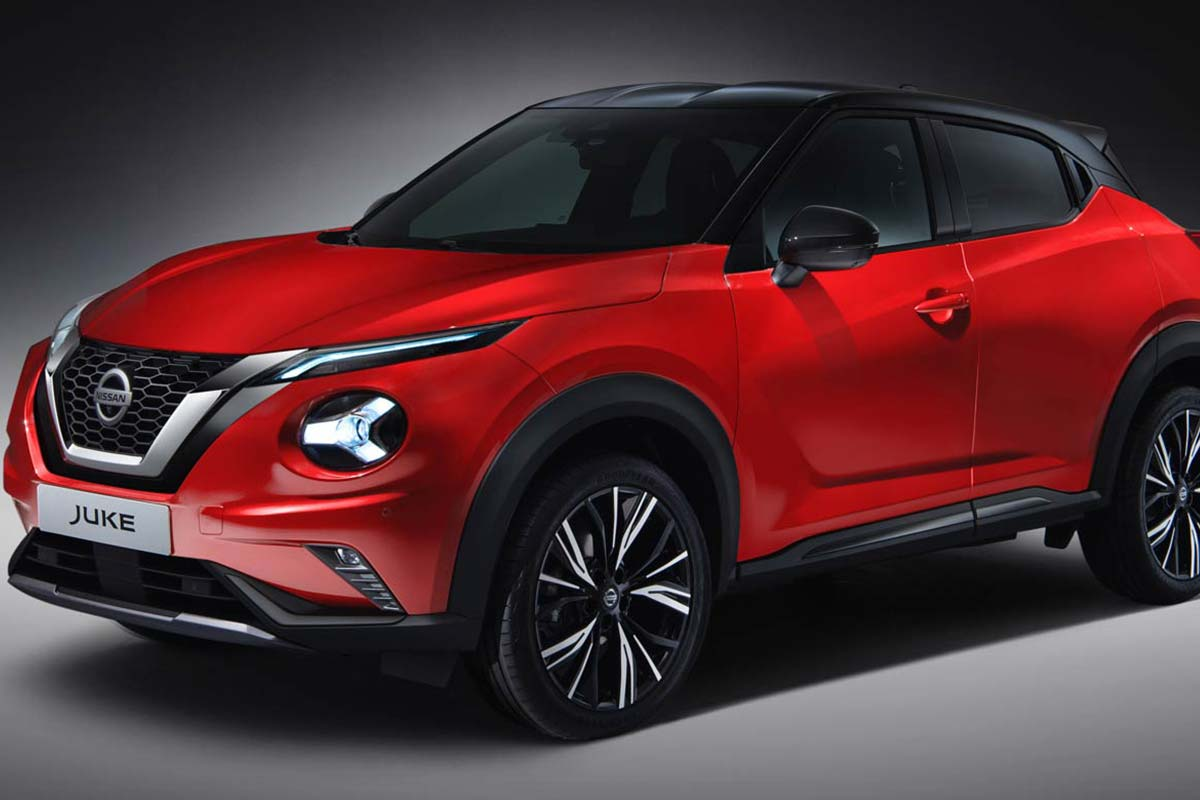 The new Nissan Juke for 2019