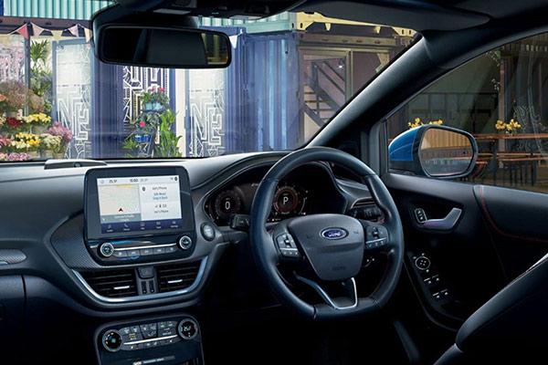 The Ford Puma Interior